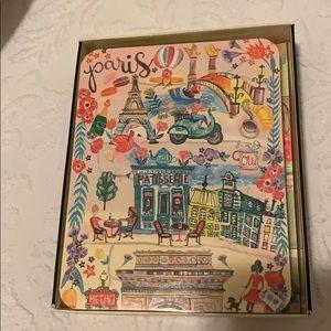 Box of Paris cards